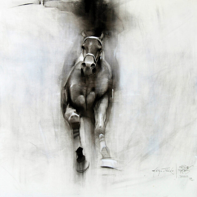 the finish__charcoal on canvas_36x36 inches